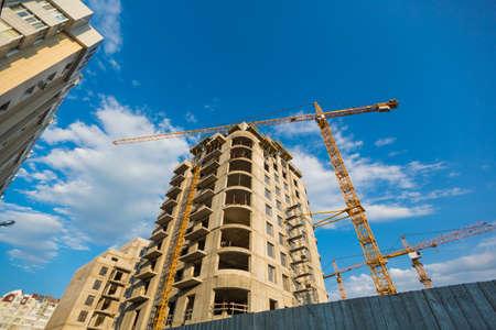 costruzione grattacielo