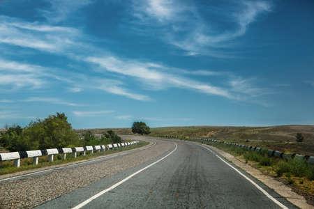 dividing: road with dividing line
