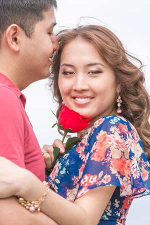 beautiful Asian couple Archivio Fotografico