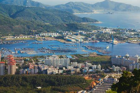 and sanya: district  city Sanya China