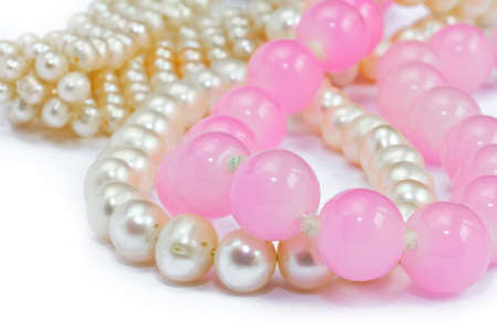 bead jewelry: bead jewelry necklace Stock Photo