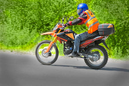 motociclista: montar rápida motorista motorista