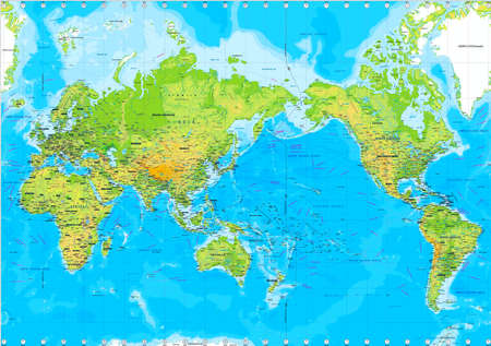 world group: Physical  map of the World