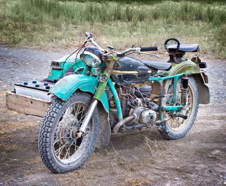old styled: old styled motorcycle
