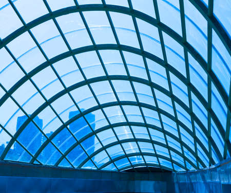 modern architecture roof glass