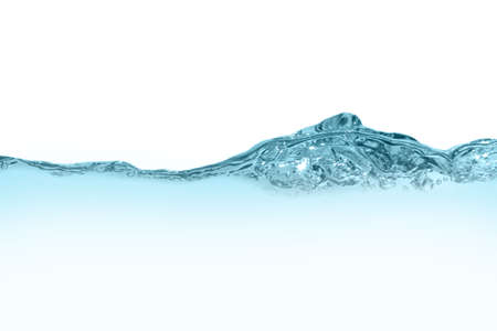 background with blue water bubbles