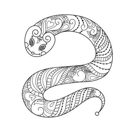 Happy new year  2013  Snake year  Vector