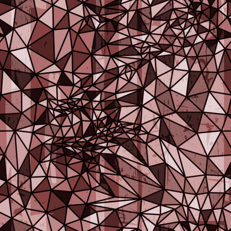 Vector abstract geometric seamless pattern from polygons. Banco de Imagens - 27326677