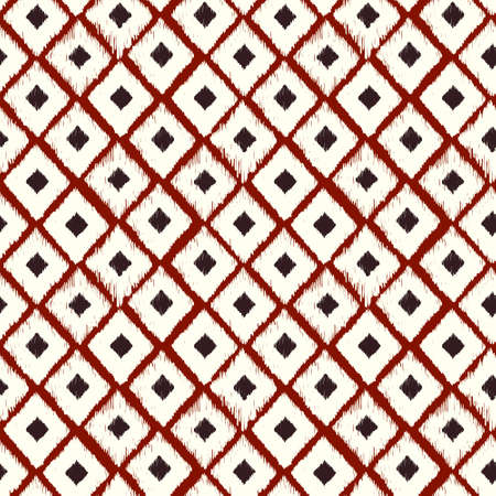 Abstract seamless geometric pattern, seamless ethnic pattern. Background can be used for web, printing and others. Vector