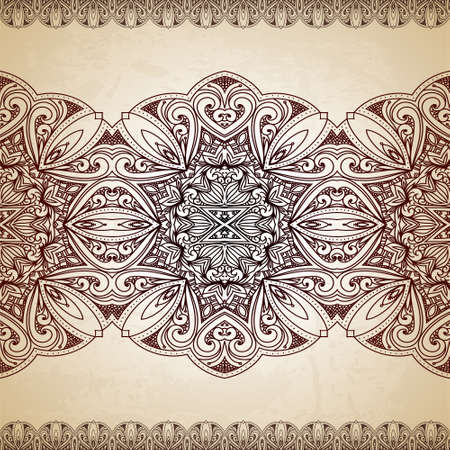 victorian scroll: Vintage background. Retro greeting card, invitation with lace and floral ornaments, beautiful, luxury postcard, old paper, page cover, template for design. Pattern element at retro grunge background.