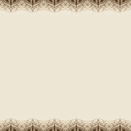 background motif: Vintage seamless pattern  Illustration  Hand drawn abstract background  Decorative retro banner  Can be used for banner, invitation, wedding card, scrapbooking and others  Royal design element  JPG Stock Photo