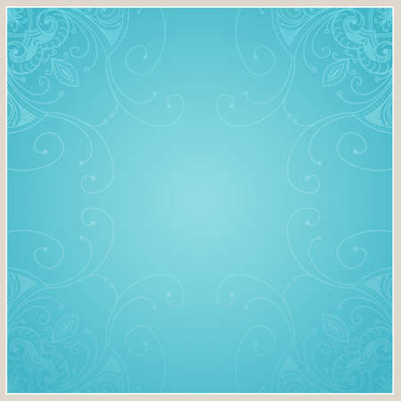 Abstract background with geometric ornamental frame  Floral frame design can be used for wedding cards and invitations, web site design, printing and other cases  photo