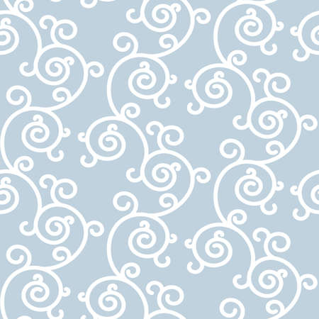 japanese motif: Abstract background with white ornament. Seamless floral background can be used for pattern fills, web design, printing, textures, banners, sign, textile, wallpaper.  Raster version. Stock Photo