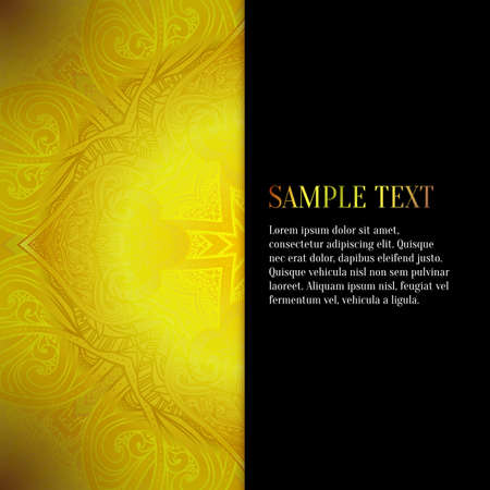 jacquard: Vector abstract background. Floral pattern, gold pattern, vector illustration, jewelry background. SIlk fabric, jacquard fabric, damask. Luxury design element for printing and web.