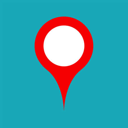 pinning: Vector pinpoint icon. Pinpoint symbol. Pinpoint sign. Pinpoint icon for website, gps navigator, apps, business card design. Pinpoint icon for web and print. Vector flat web icon.