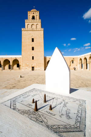 Sundial of Great Mosque in Kairouan Stock Photo - 11590747