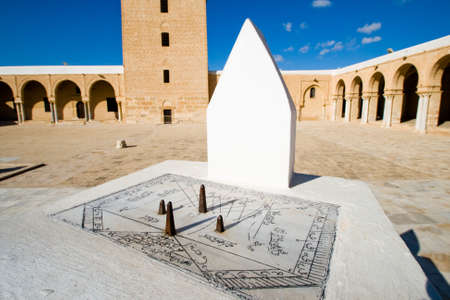 Sundial of Great Mosque in Kairouan Stock Photo - 11590746