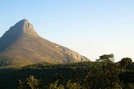 Lion`s Head from Cape Town photo