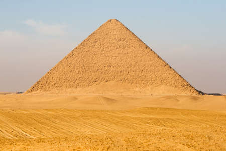 Red Pyramid in Egypt photo