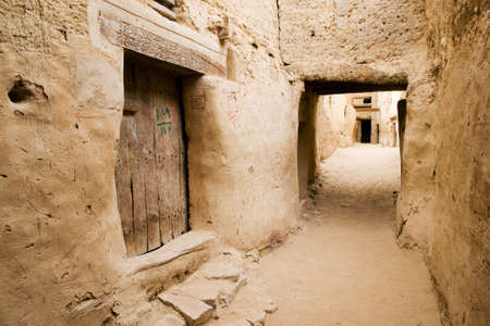 3rd ancient: The ancient Ruins of El-Qasr in Dachla, Egypt
