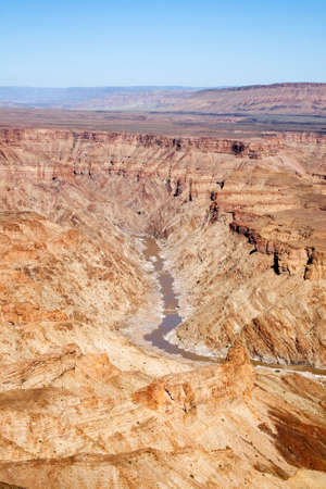 gorge: Fish River Canyon in Namibia
