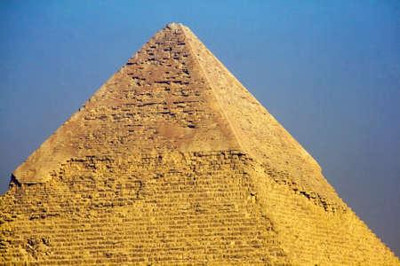 chephren: Pyramid, Top of Chephren Pyramid