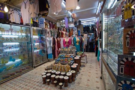 Shop in the Medina of Tunis, Tunisia