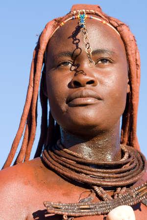 Himba Vrouw Portret