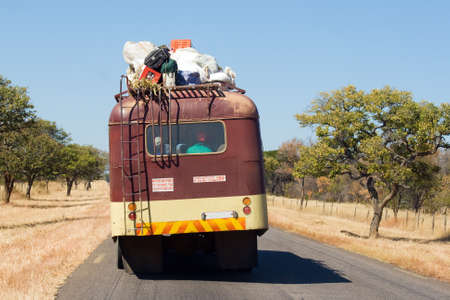 Public Transportation on African Road