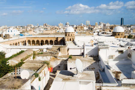 The Great Mosque of Al-Zaytuna or Olive-Tree Mosque  Djemaa ez Zitouna  in Tunis Stock Photo - 15367744