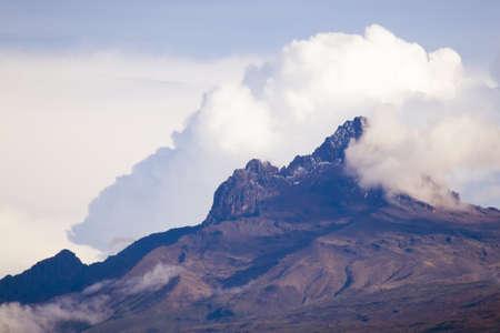 Mount Kilimanjaro, Mawenzi Stock Photo