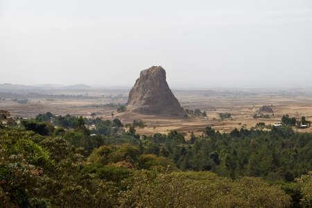 ethiopian: Rock in Ethiopian Highlands.