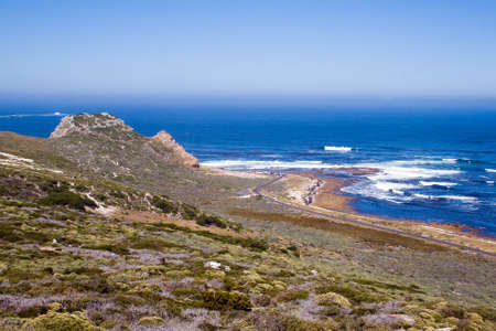 cape of good hope: Landscape at the Cape of Good Hope. Stock Photo