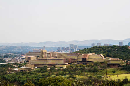 gauteng: University of South Africa Unisa Muckleneuk Campus.