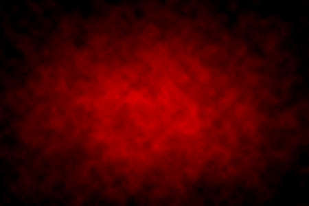 solid color: Abstract Red Background with Black Vignette Border Stock Photo