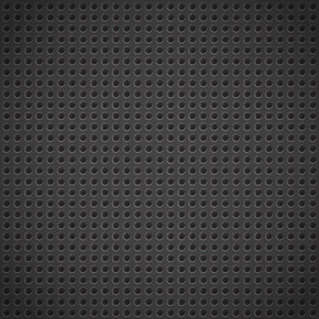 grille: Abstract Background Texture of Grill Metal Plate. Circle Pattern. Dot, Speaker, Industrial Background.