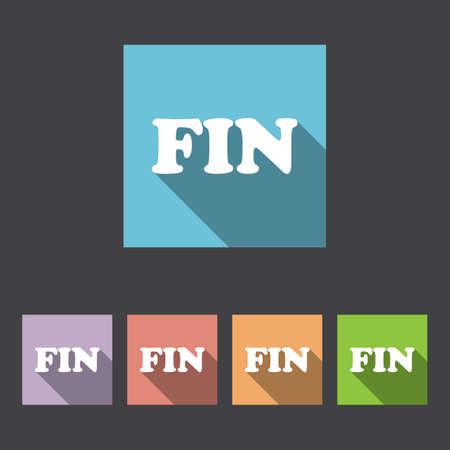 핀란드의: 핀란드어 언어 기호 아이콘입니다. 번역 벡터 기호입니다. 일러스트