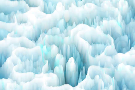 ice surface: Illustration of Iceberg Surface Stock Photo
