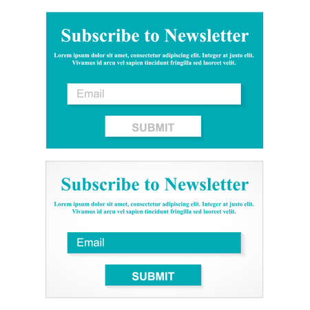 web site design: The Simple Gray Subscribe to Newsletter Form. Web Site Design.