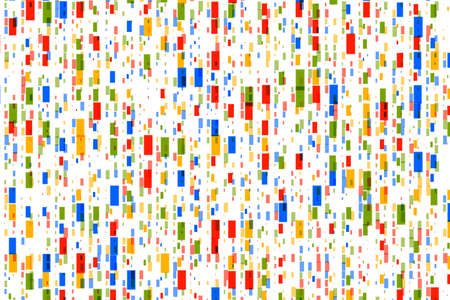 Abstract Background with Colorful Rectangles for Greeting Card Stock Photo