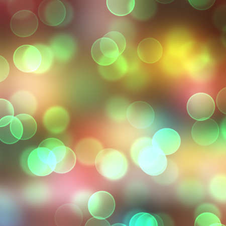 Abstract Light. Bokeh Background.