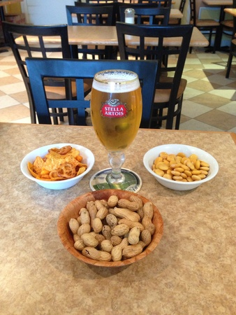 Beer and some snacks