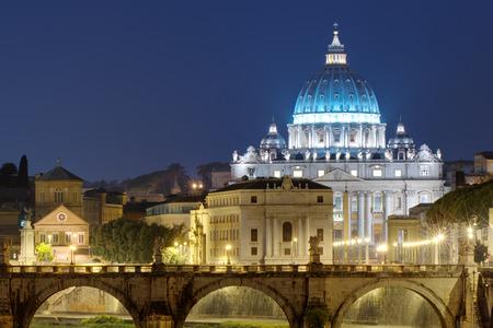 Night view of Rome, Italy Reklamní fotografie