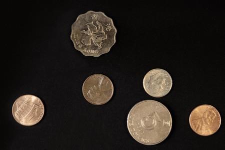 copper coin: Coins
