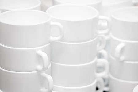 Set of mugs for tea ceremony, tea drinking  photo