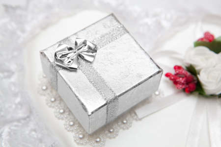Box for gift photo
