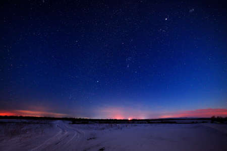 the night sky: stars in the night sky