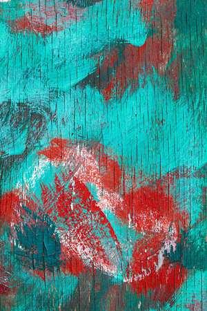 abstractly: Abstractly painted wooden surface Stock Photo