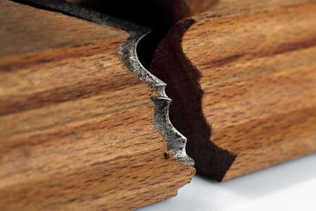 planer: Planer blade for wood.
