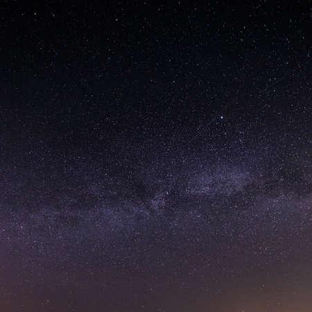 Notte cielo stellato per lo sfondo.
